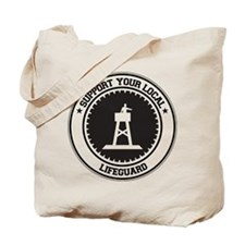Support Lifeguard Tote Bag