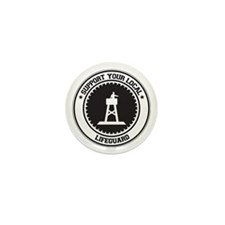 Support Lifeguard Mini Button (10 pack)