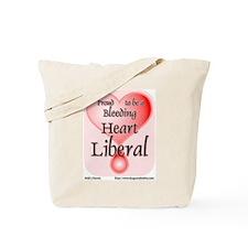 Bleeding Heart Liberal Tote Bag