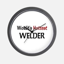 World's Hottest Welder Wall Clock