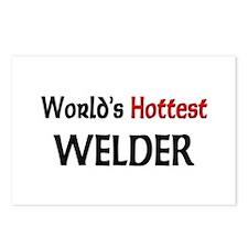 World's Hottest Welder Postcards (Package of 8)