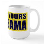 Up Yours Obama Large Mug