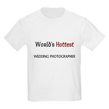 World's Hottest Wedding Photographer Kids Light T-