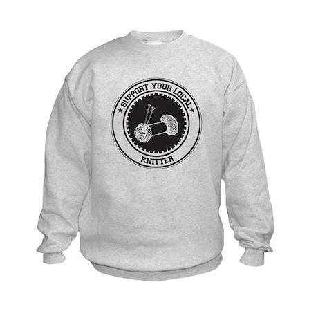Support Knitter Kids Sweatshirt
