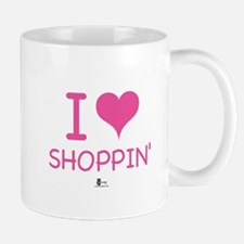 I Love Shoppin' Mug