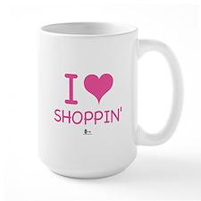 I Love Shoppin' Mug