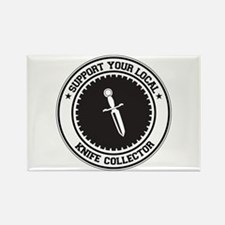Support Knife Collector Rectangle Magnet
