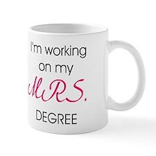 College Mrs. Degree Mug