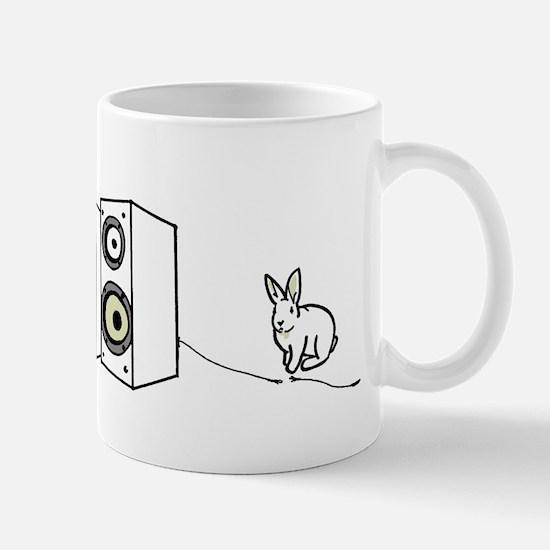 speaker bunny Mug