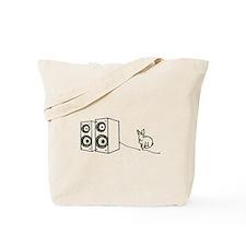 speaker bunny Tote Bag