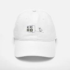 speaker bunny Baseball Baseball Cap