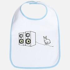 speaker bunny Bib
