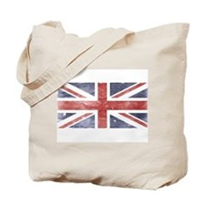 BRITISH UNION JACK (Old) Tote Bag
