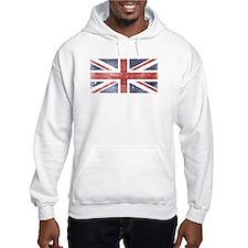 BRITISH UNION JACK (Old) Jumper Hoody