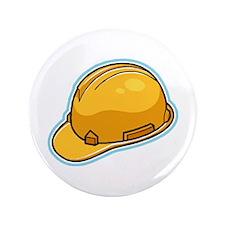 """Hard Hat 3.5"""" Button"""