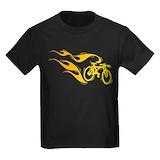 Bicycle Kids T-shirts (Dark)