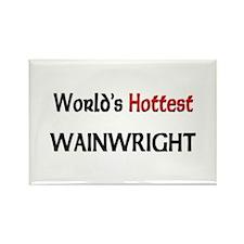 World's Hottest Wainwright Rectangle Magnet
