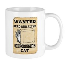 Schroedinger's Cat Small Mugs