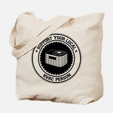 Support HVAC Person Tote Bag