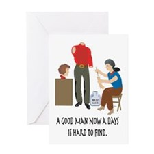 Good Man Greeting Card