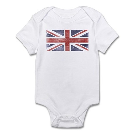 BRITISH UNION JACK (Old) Infant Bodysuit
