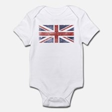 BRITISH UNION JACK (Old) Infant Bodysuit