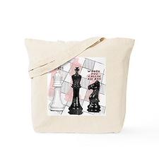 Funny Chess Men Tote Bag