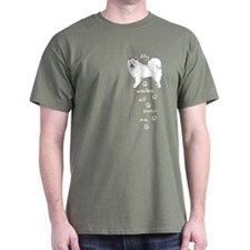 Eskie Walks T-Shirt