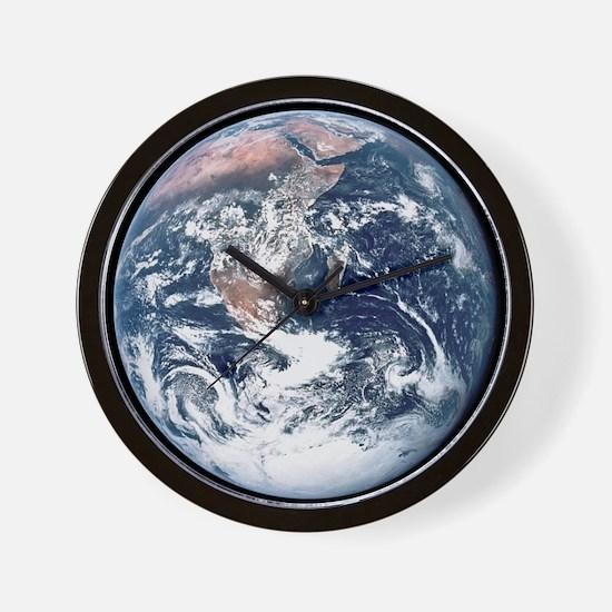 Earth From Moon Wall Clock