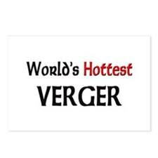 World's Hottest Verger Postcards (Package of 8)
