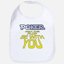 Poker: May the Flop be with You Bib
