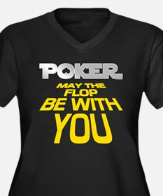 Poker: May the Flop be with You Women's Plus Size
