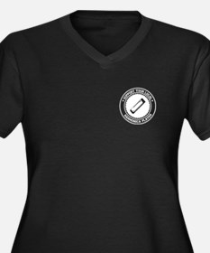 Support Harmonica Player Women's Plus Size V-Neck