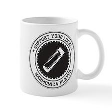 Support Harmonica Player Mug