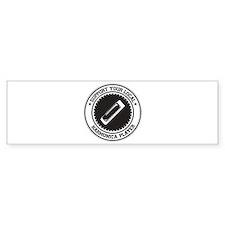 Support Harmonica Player Bumper Sticker (50 pk)