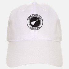 Support Guitar Player Baseball Baseball Cap