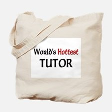 World's Hottest Tutor Tote Bag