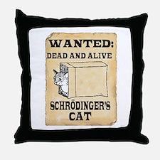 Schroedinger's Cat Throw Pillow