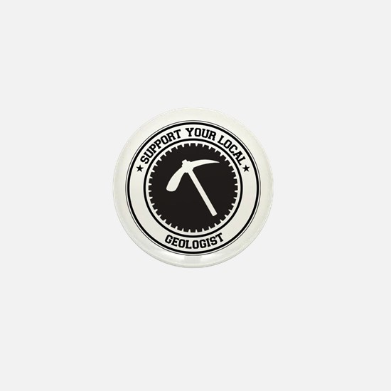 Support Geologist Mini Button
