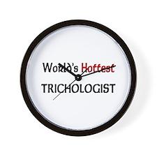 World's Hottest Trichologist Wall Clock