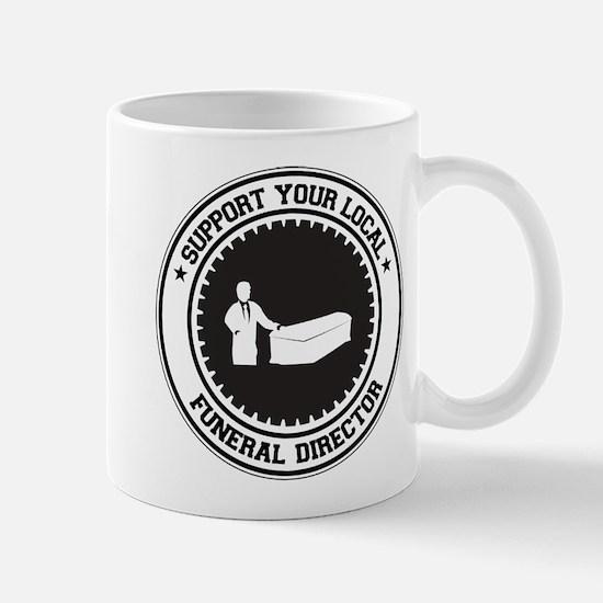 Support Funeral Director Mug