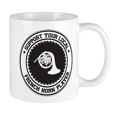 Support French Horn Player Mug