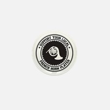Support French Horn Player Mini Button