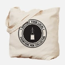 Support Fountain Pen Collector Tote Bag