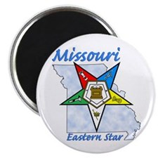 Missouri Eastern Star Magnet