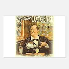 L'Absinthe Oxyngenee Postcards (Package of 8)