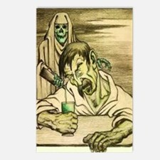 Absinthe Grim Reaper Postcards (Package of 8)