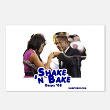 Obama, Shake 'n Bake Postcards (Package of 8)