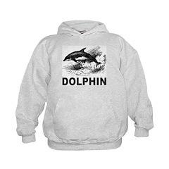 Vintage Dolphin Hoodie