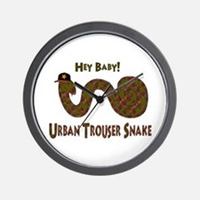 Urban Trouser Snake Wall Clock